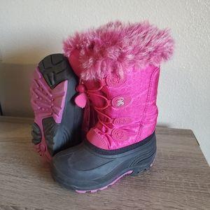 Girls Kamik snow boots size 13